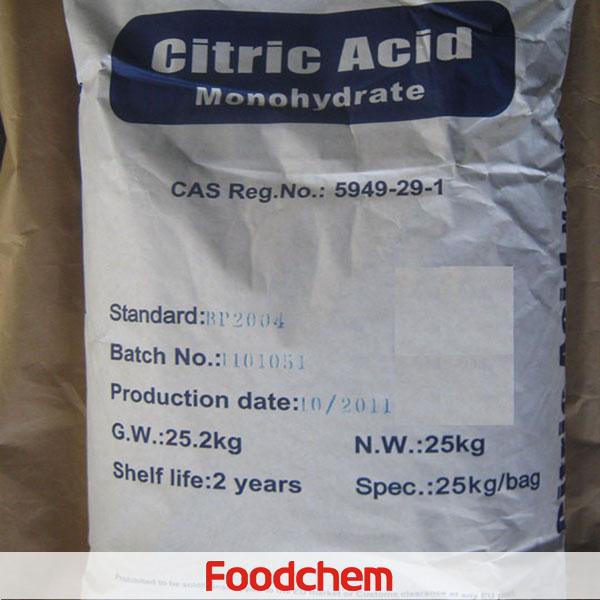 Axit Citric Monohydrat
