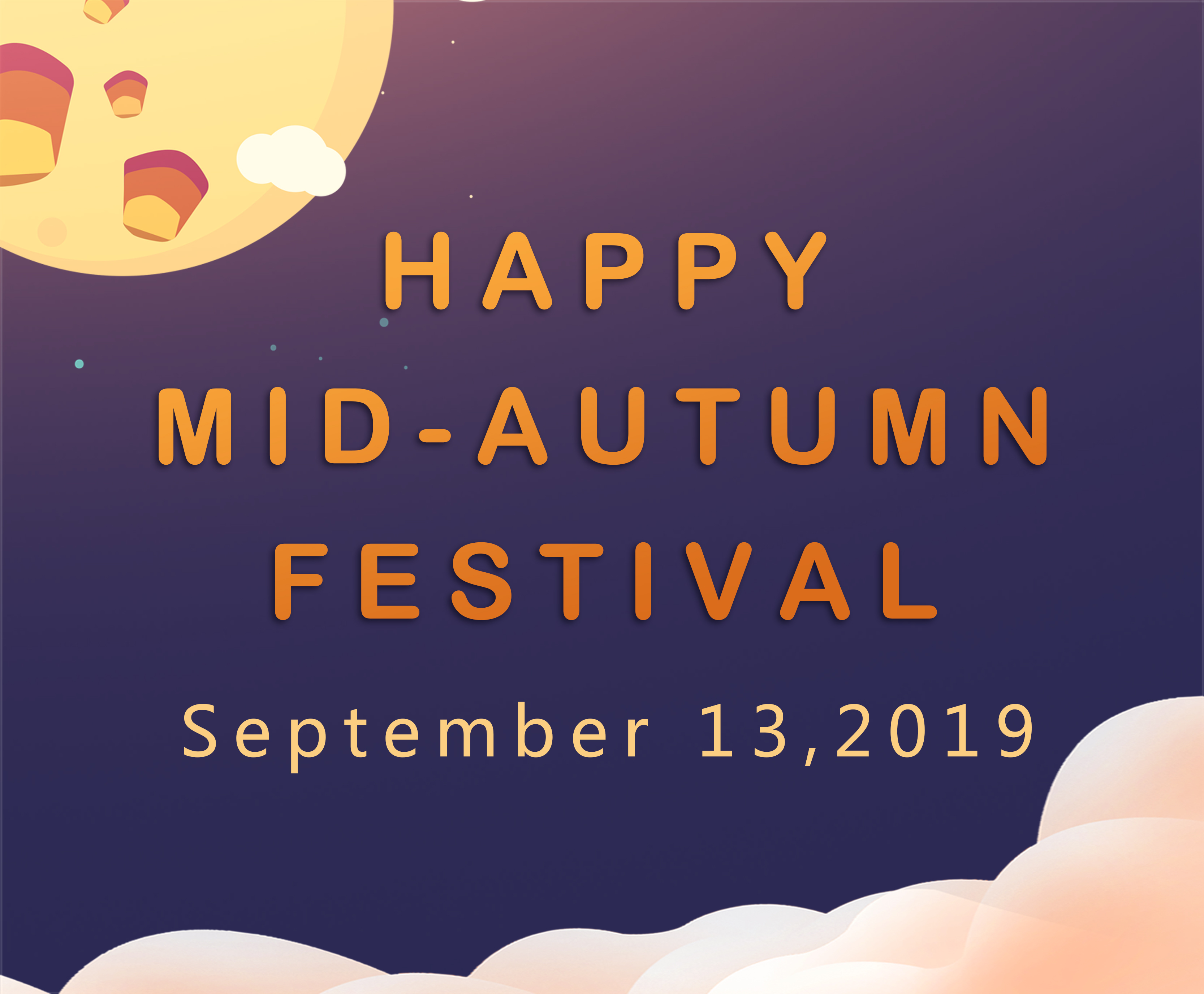 Happy Mid-Autumn Festival 2019 FOODCHEM™