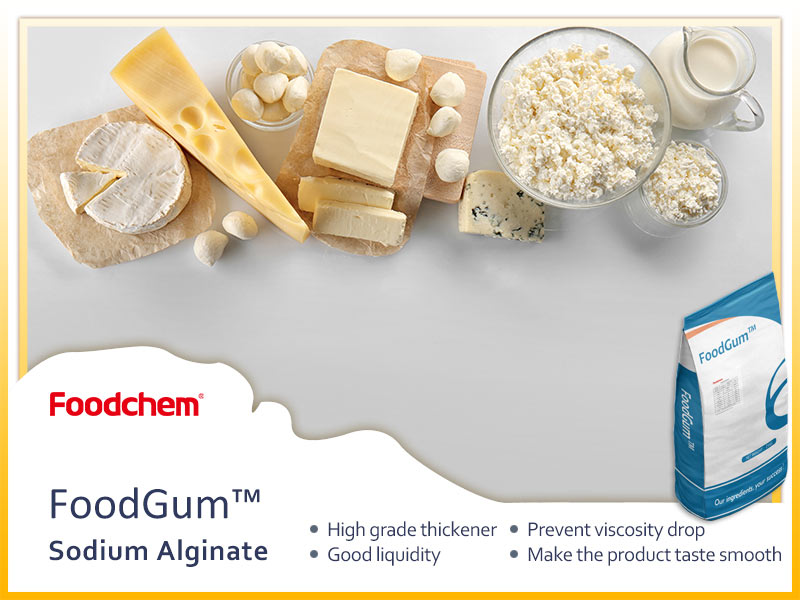 Sodium Alginate Supplier - Foodchem