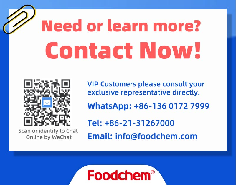 Special Supply of Epidemic Prevention Materials for Customers from Foodchem